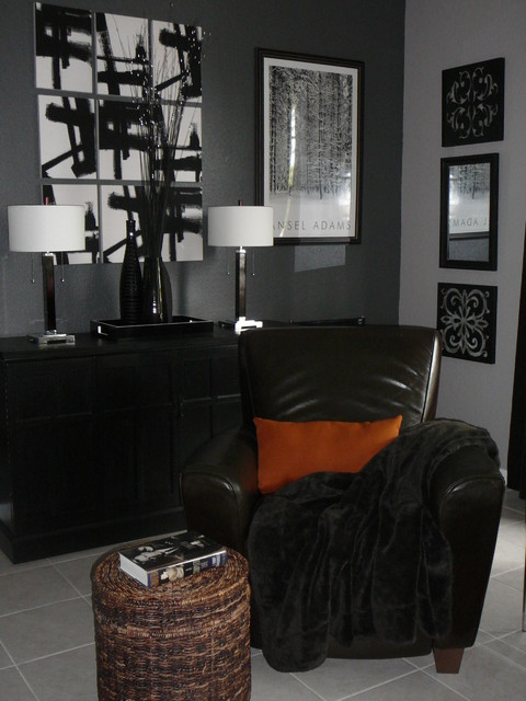 MODERN AUTUMN STYLE modern-living-room