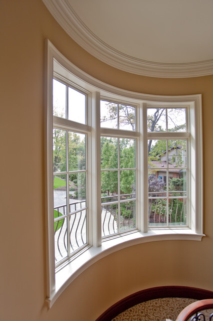 Curved Window Treatment Windows Cleveland By Keim