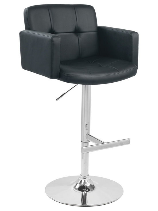 Stout Bar Stool - BLACK