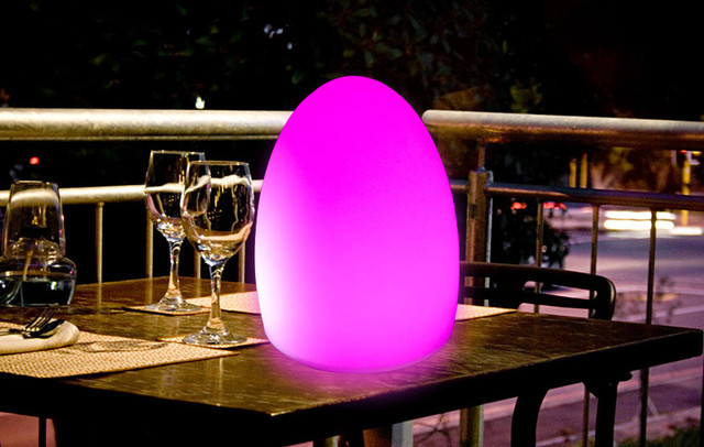 wireless outdoor led table lamp Modern Outdoor Table