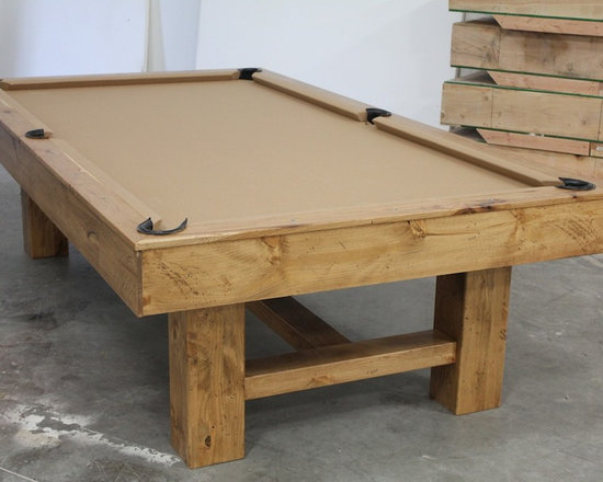 Michigan Made Custom Pool Tables - Add a McClure pool table to your bachelor pad and you will wonder how you ever lived without one. Made of one hundred percent North American hard maple, this table exudes a unique contemporary style. Not only will it be a focal point for all those in the room, but it will also provide hours of entertainment and competition.