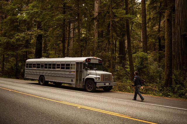 Bus conversion exterior