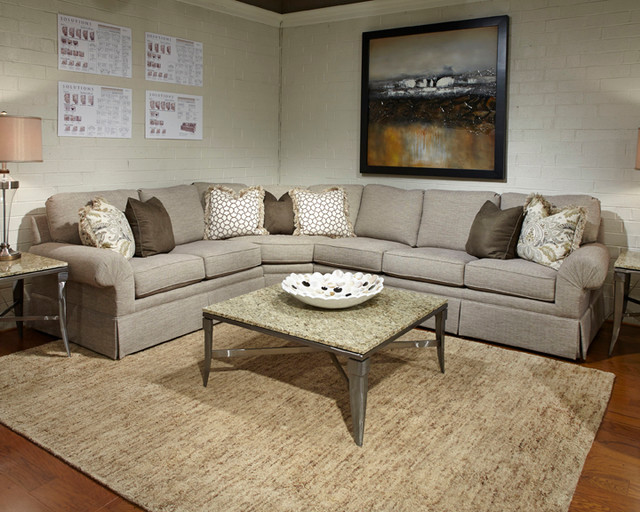 Huntington House Products Traditional Sectional Sofas