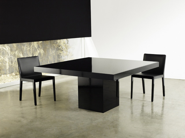Beech square dining table modern dining tables los angeles by