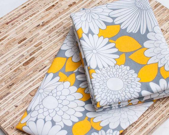 Ecofriendly Large Cloth Napkins by JAQS Studio contemporary-napkins