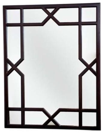 Dorothy Draper Collection Trellis Mirror traditional-mirrors
