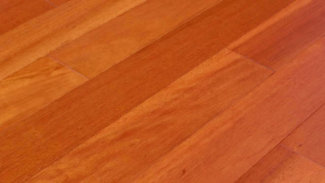 Pometia malaccan cherry modern collection solid for Prefinished wood flooring