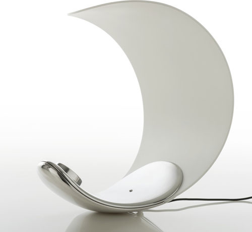 Curl D76 - LED Table Lamp | Luceplan modern-table-lamps