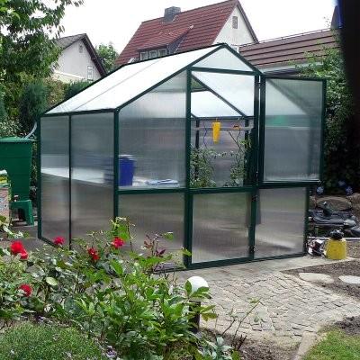 Rose II Greenhouse Kit modern-greenhouses