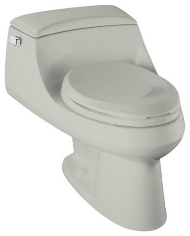 Kohler K 3826 33 Portrait Comfort Height One Piece Elongated Toilet .