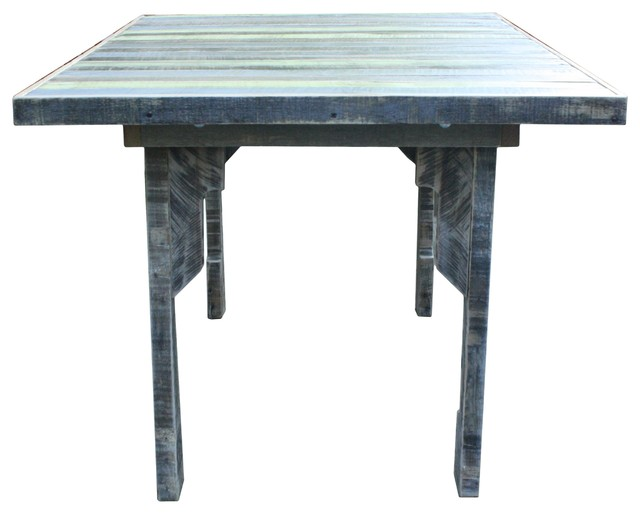 Repurposed pallet dining table savannah style modern for Repurposed dining table