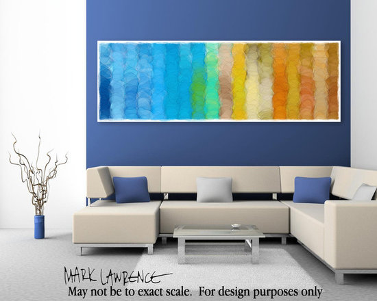 """Big Art Inspiration - God Is Faithful. 1 Corinthians 1:9. 150"""" x 50"""" inches. Panoramic VerseVisions™ Bible Verse Inspired Christian Modern Art. Copyright © 2012 by Mark Lawrence.  All Rights Reserved."""