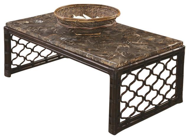 Hammary Boracay 3-Piece Rectangular Coffee Table Set traditional-coffee-tables