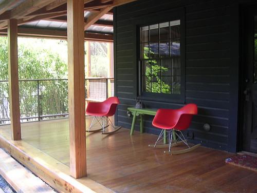 Sambo House in Atlanta by Becky Harris contemporary-porch