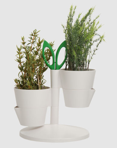 Vase modern indoor pots and planters