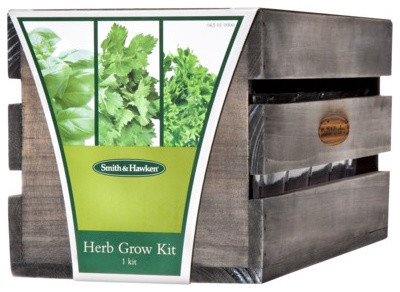 Smith Hawken Three Herb Grow Kit Contemporary Gardening Tools By Target