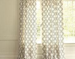 Firenze Embroidered Panel Curtain mediterranean-curtains