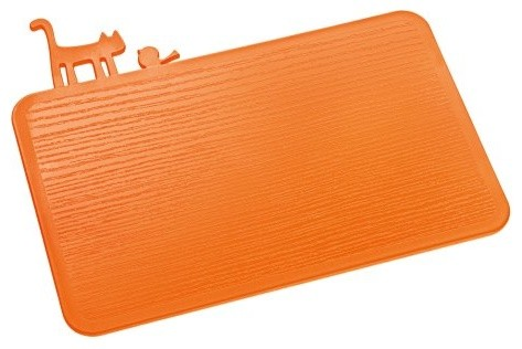 Koziol Pi P Chopping Board Orange Contemporary