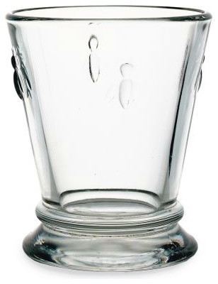 Provençal Bee Glasses traditional glassware