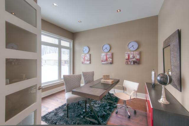 Richmond contemporary-home-office