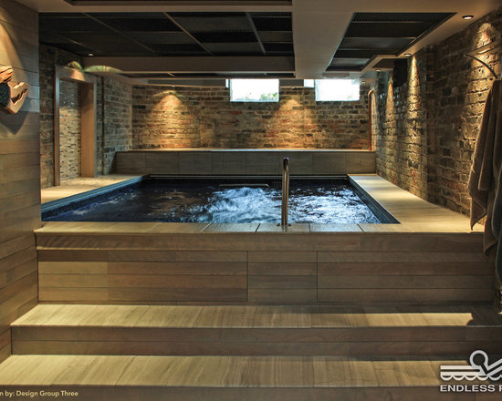 Original Endless Pools® - Water in the basement can be a great thing!