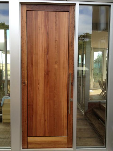 front door flinders beach house contemporary front doors melbourne by jaegerister