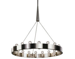 Candelaria Chandelier by Robert Abbey contemporary-chandeliers