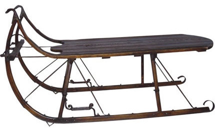 Jouster 39 S Sleigh Coffee Table