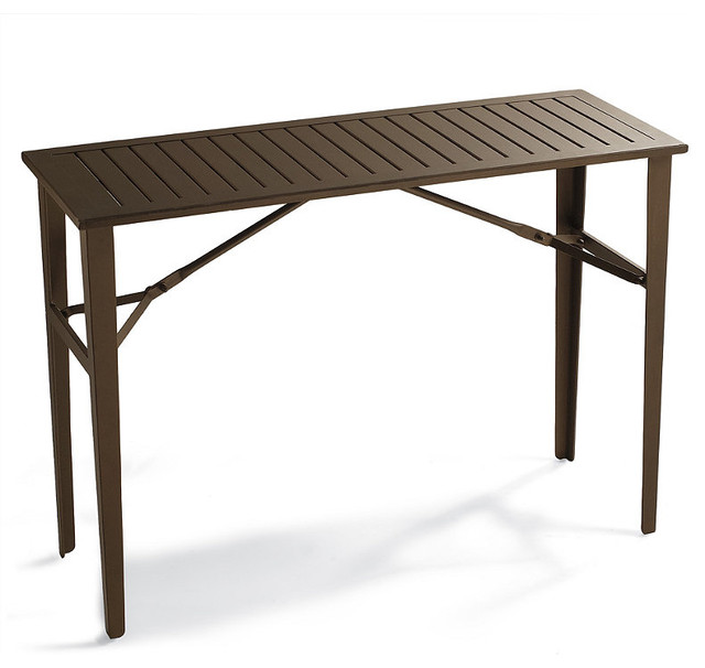 Counter Height Picnic Table : Folding Counter-height Table - Frontgate, Patio Furniture contemporary ...