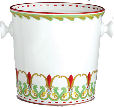 Grand Tour Ice Bucket mediterranean barware