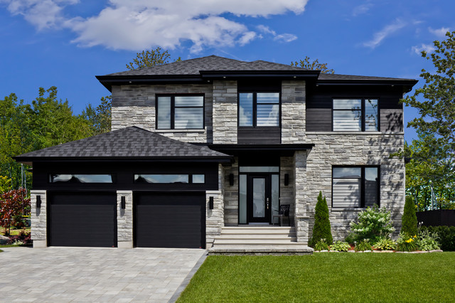 Stone Products - Modern - Exterior - montreal - by Rinox Inc