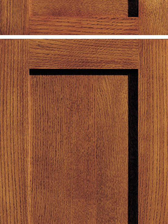 """Dura Supreme Cabinetry - Dura Supreme Cabinetry Craftsman Panel Cabinet Door Style - Dura Supreme Cabinetry """"Craftsman Panel"""" cabinet door style shown in Quarter-Sawn Red Oak with """"Mission"""" finish."""