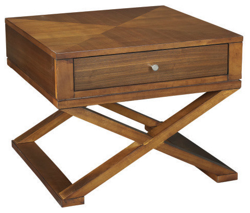 Hammary Rave Square Bunching Coffee Table Contemporary Coffee Tables By Hayneedle