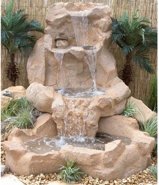 Outdoor water fountains home design elements - Fuentes de agua para jardin exterior ...