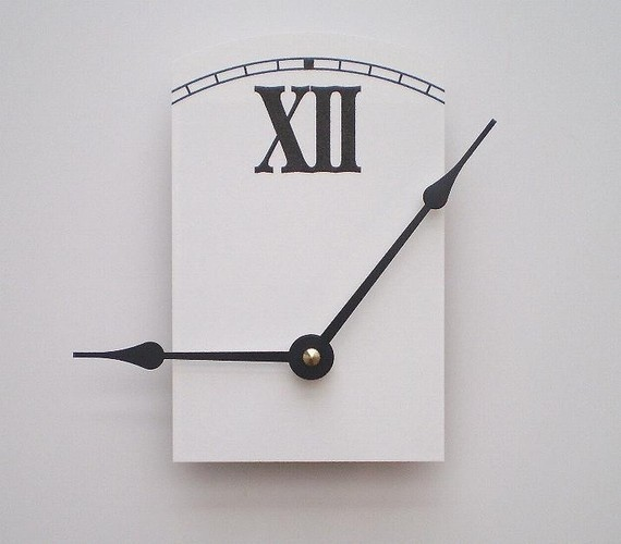 Missing Time Clock by Cyber Moon contemporary-clocks