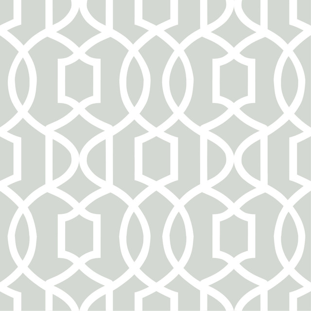 Modern Trellis Wallpaper