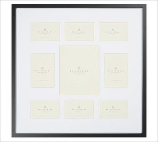 Wood Gallery Picture Frame 9 Opening Square Multisize