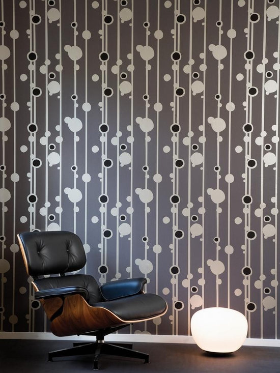 Ferm Living Walldots Wallpaper - Ferm Living's Wallpaper is graphic & whimsical adding character, charm and personality to any room. Wallpaper has a striking effect and will without a doubt turn your room into a sanctuary.