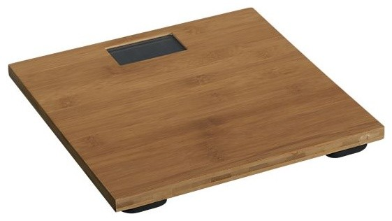 Bamboo Digital Bath Scale asian bath and spa accessories