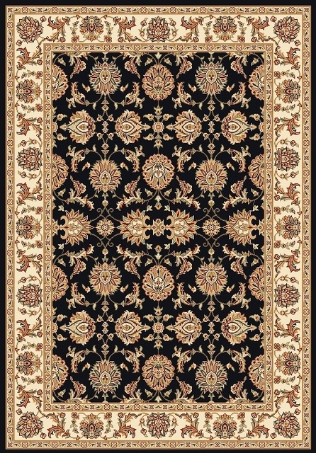 "Traditional Surrey Medallion Crest Dark 9'10""x13'2""Area Rug traditional-rugs"