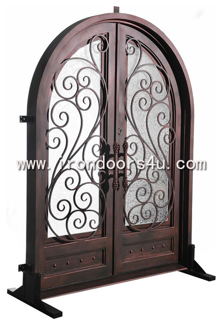 Wrought iron doors----DAD-009 traditional front doors
