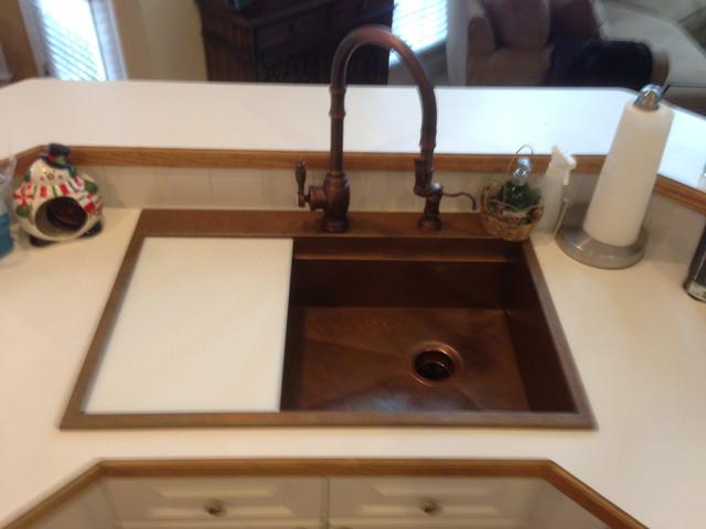 Copper Top Mount Signature Series Sink By Rachiele