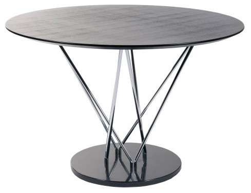 Round Dining Table An Ultra Contemporary Round Dining Table Featuring