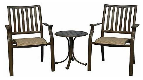 Panama Jack Island Breeze 3-Piece Balcony Set traditional-patio-furniture-and-outdoor-furniture