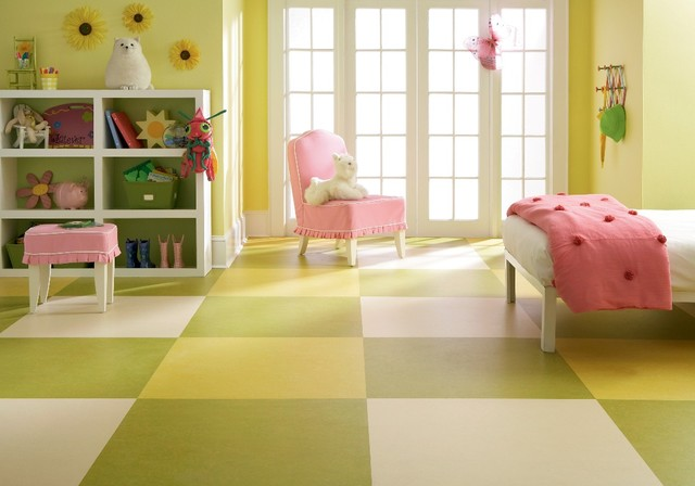 Marmoleum Linoleum Flooring by Forbo eclectic floors