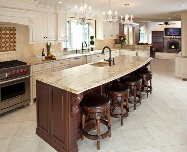 Traditional kitchens cabico kitchen cabinetry for Cabico kitchen cabinets