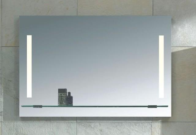 Mirror with Integrated Lighting - Napoli modern-bathroom-mirrors
