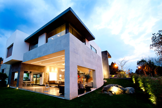 Casa Cubo Contemporary Exterior Mexico City By