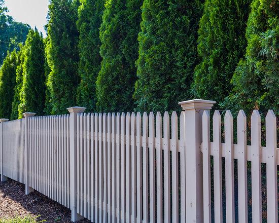 Princeton Cedar Picket Fence -
