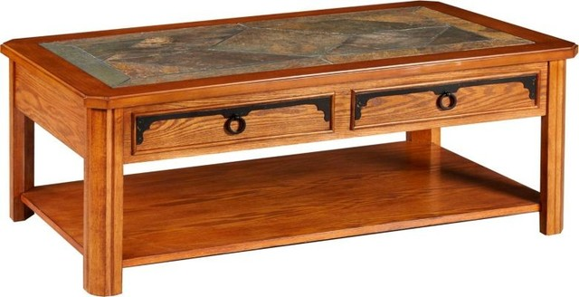 Broyhill Furniture Quail Valley Coffee Table And End